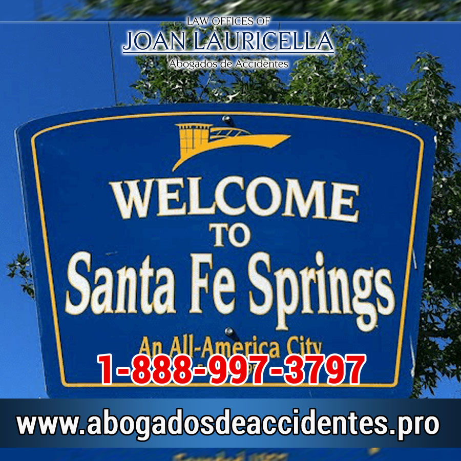 Abogados de Accidentes en Santa Fe Springs Los Angeles,