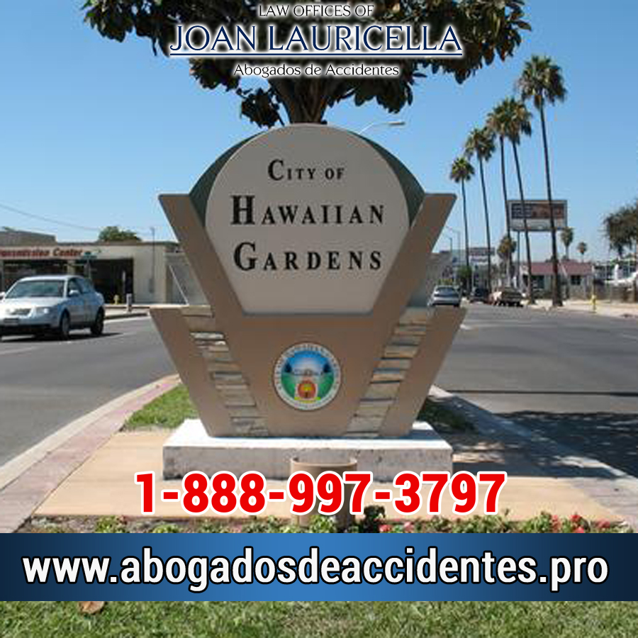 Abogados de Accidentes en Hawaiian Gardens Los Angeles