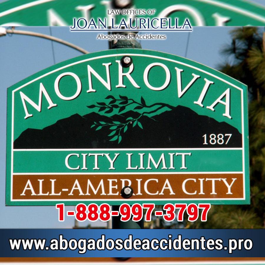Abogados de Accidentes de en Monrovia Los Angeles,