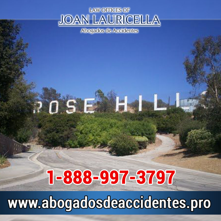Abogados de Accidentes en Rancho Rose Hills Los Angeles,