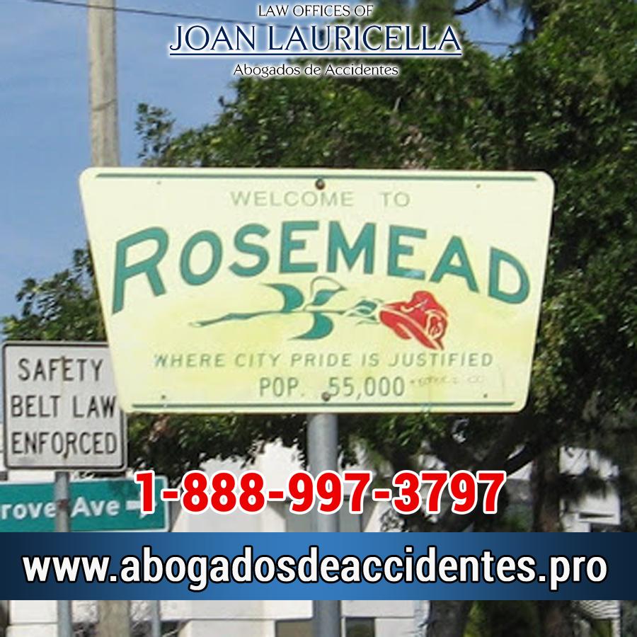 Abogados de Accidentes en Rosemead Los Angeles