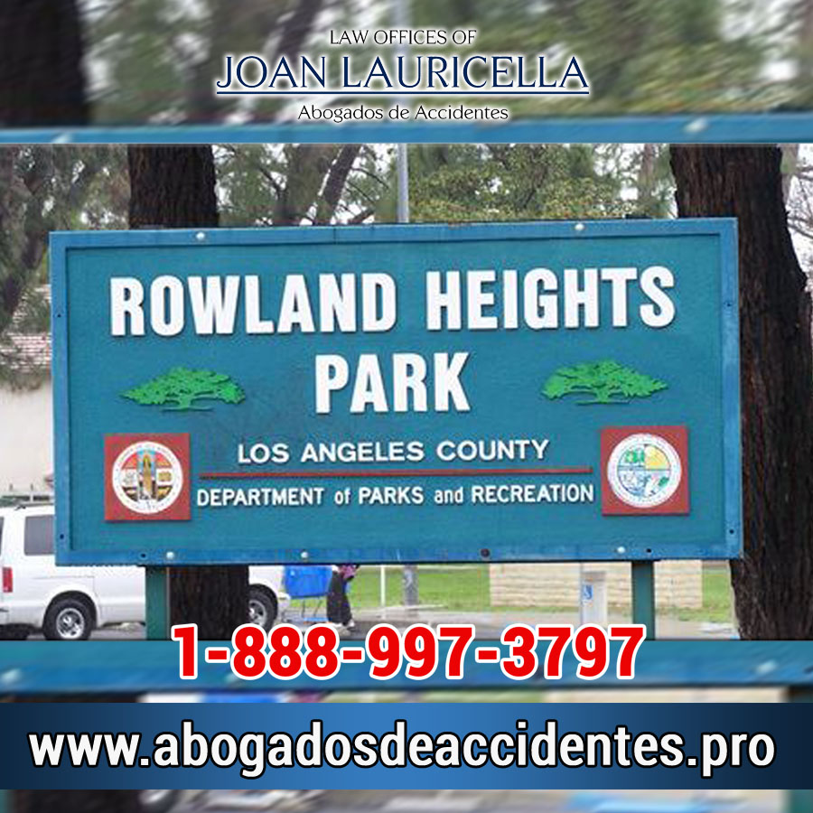 Abogados de Accidentes en Rowland Heights Los Angeles,