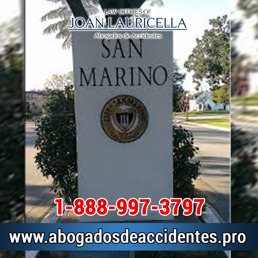 Abogados de Accidentes en San Marino Los Angeles,