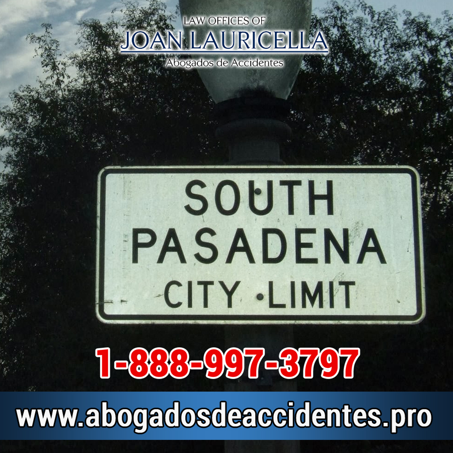 Abogados de Accidentes en South Pasadena Los Angeles,