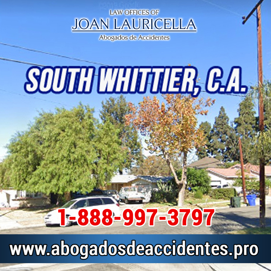 Abogados de accidentes en South Whittier Los Angeles,