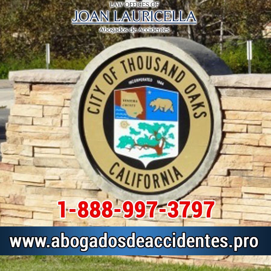 Abogados de Accidentes en Thousand Oaks Los Angeles,