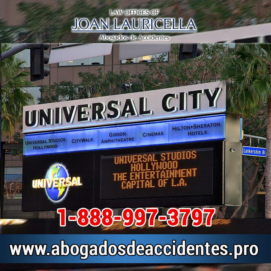 Abogados de Accidentes en Universal City Los Angeles,