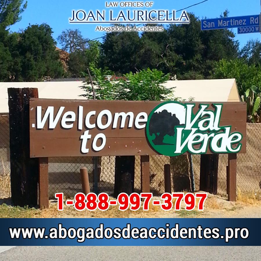 Abogados de Accidentes en Val Verde Los Angeles,