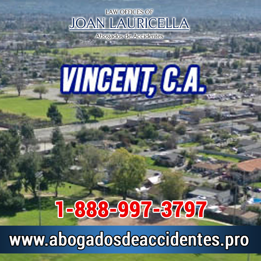 Abogados de Accidentes en Vincent Los Angeles,
