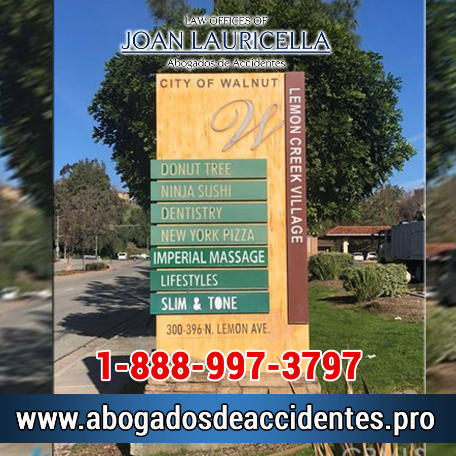 Abogados de Accidentes en Walnut Los Angeles,