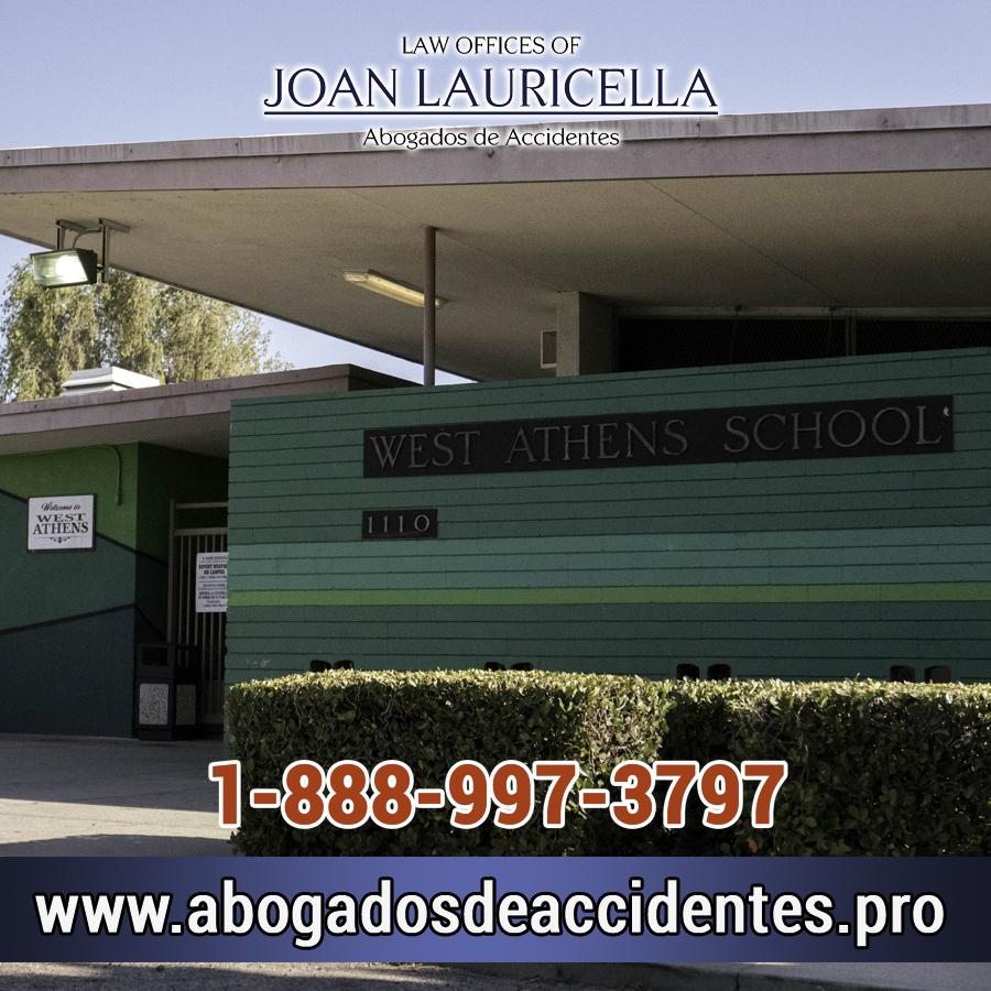 Abogados de Accidentes en West Athens Los Angeles,