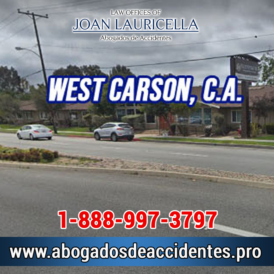 Abogados de Accidentes en West Carson Los Angeles,