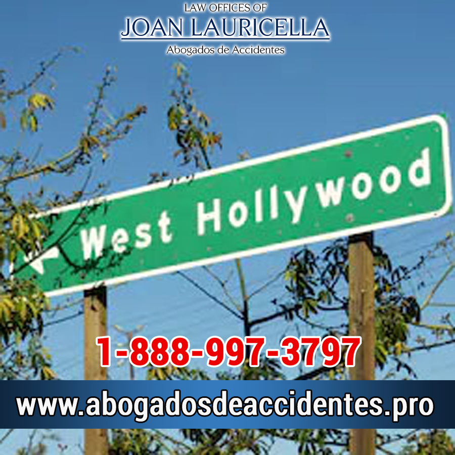 Abogados de Accidentes en West Hollywood Los Angeles,