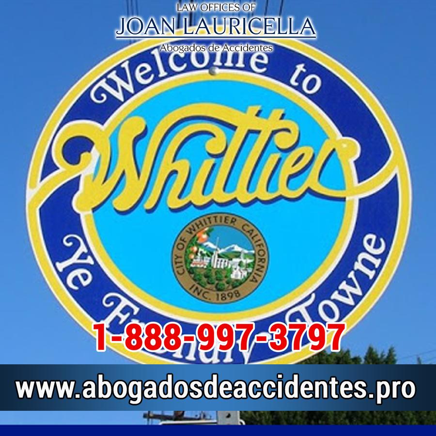 Abogado de Accidentes en Whittier Los Angeles,