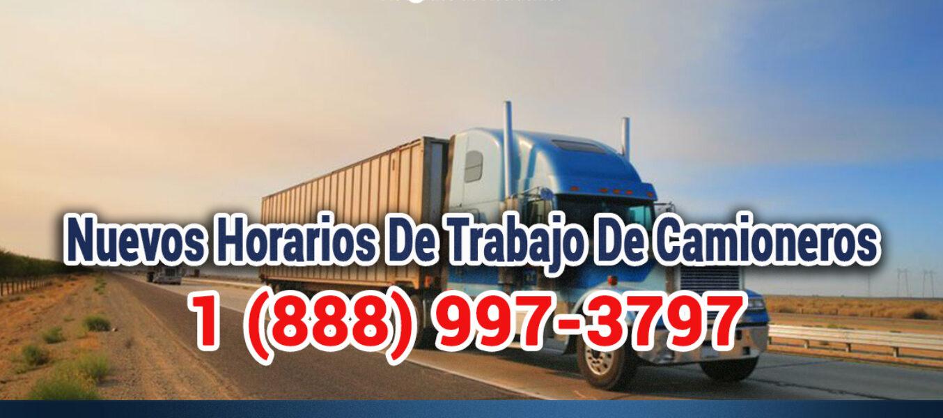 Horarios De Trabajo Para Conductores De Camiones En Los Angeles