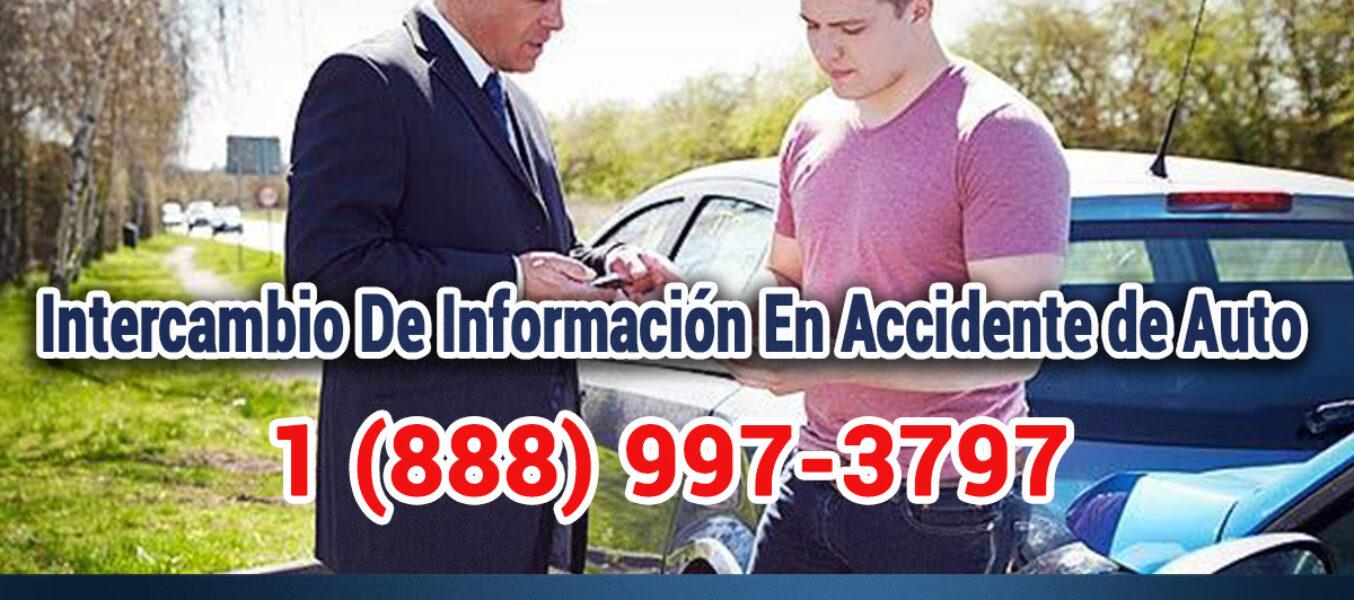 ¿Importancia del Intercambio De Información Después De Un Accidente Automovilístico En Los Angeles?