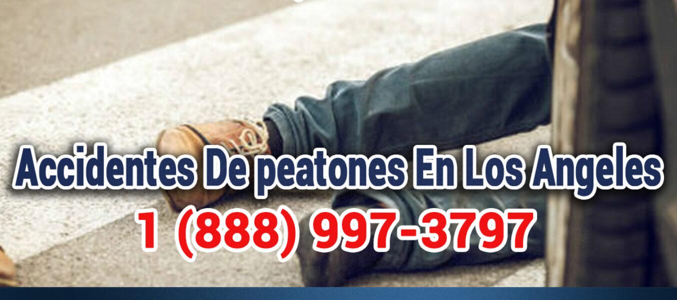 Accidentes De Peaton En Los Angeles