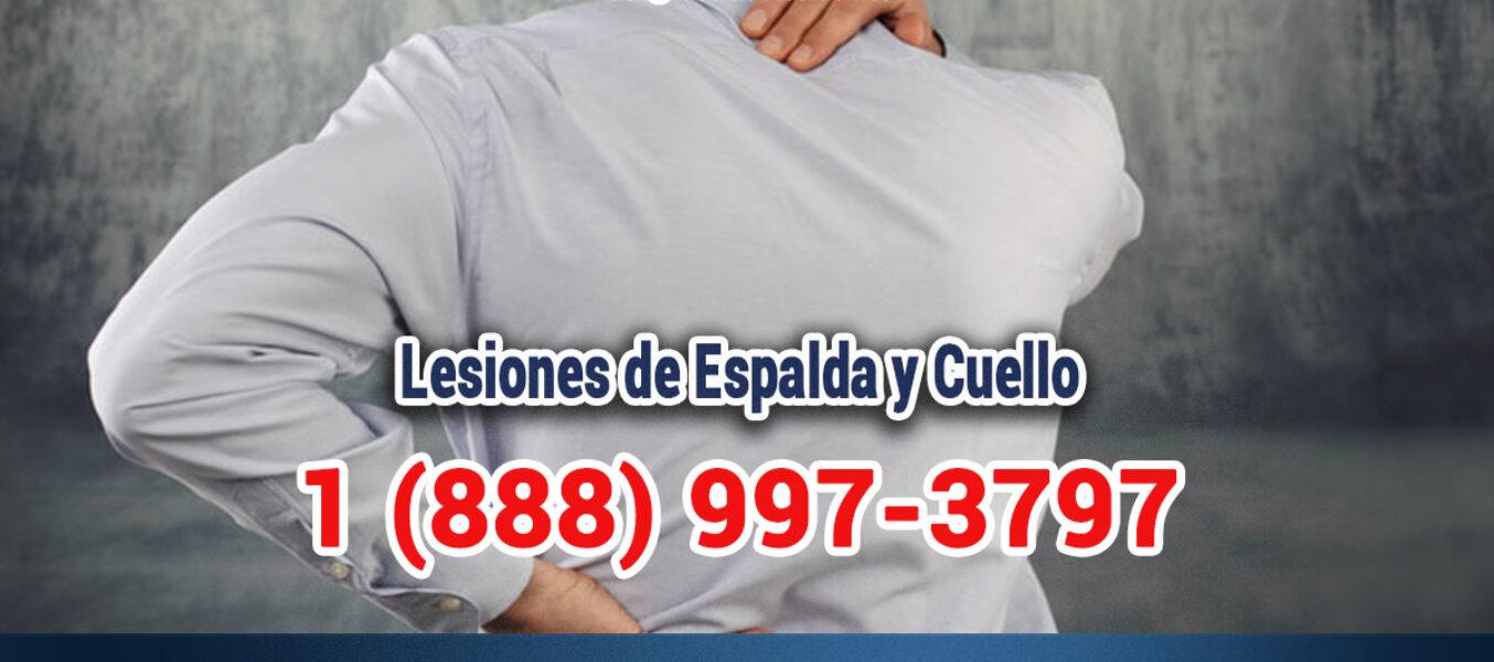 Lesiones de Espalda y Cuello en Accidentes en Los Angeles