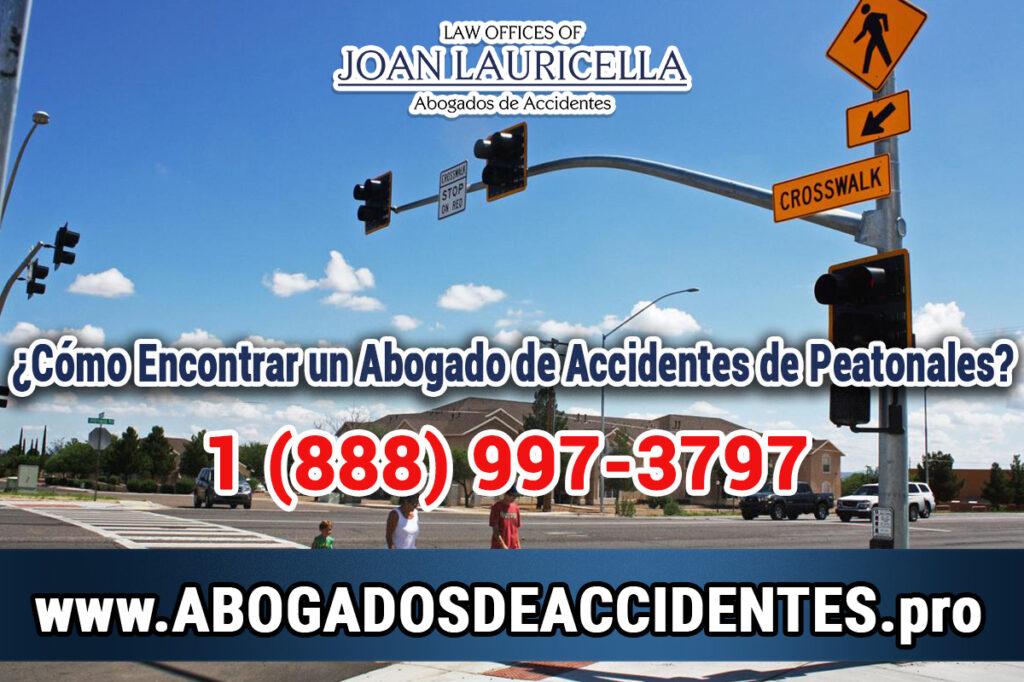 Aboagados de Accidentes Peatonales en Los Angeles