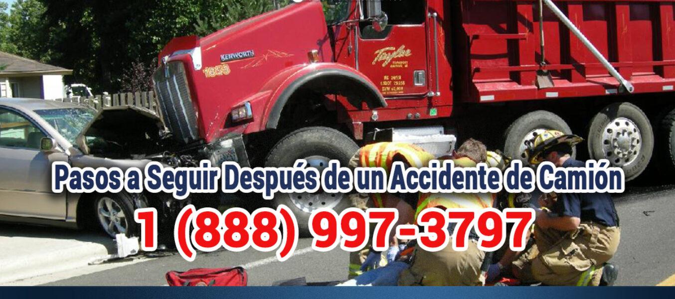 🥇Pasos a Seguir Después de un Accidente de Camión en Los Ángeles