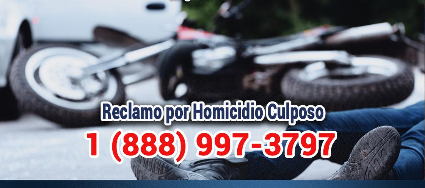 🥇Reclamo por Homicidio Culposo de un Accidente de Motocicleta en Los Ángeles