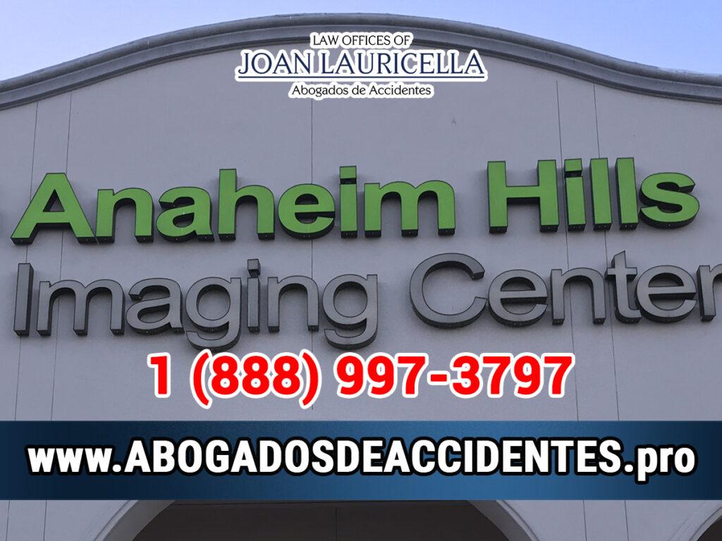 Abogados de Accidentes en Anaheim Hills