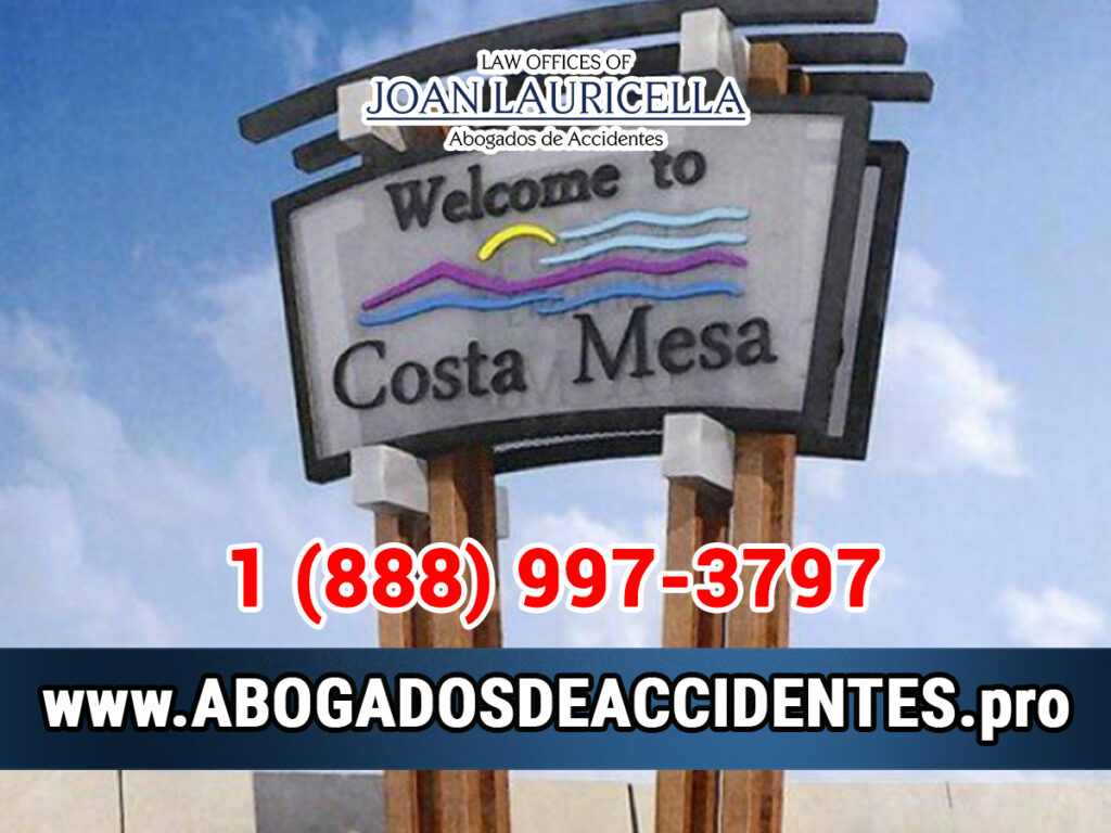 Abogados de Accidentes en Costa Mesa