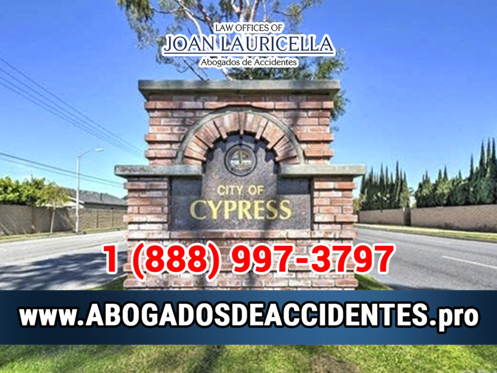 Abogados de Accidentes en Cypress