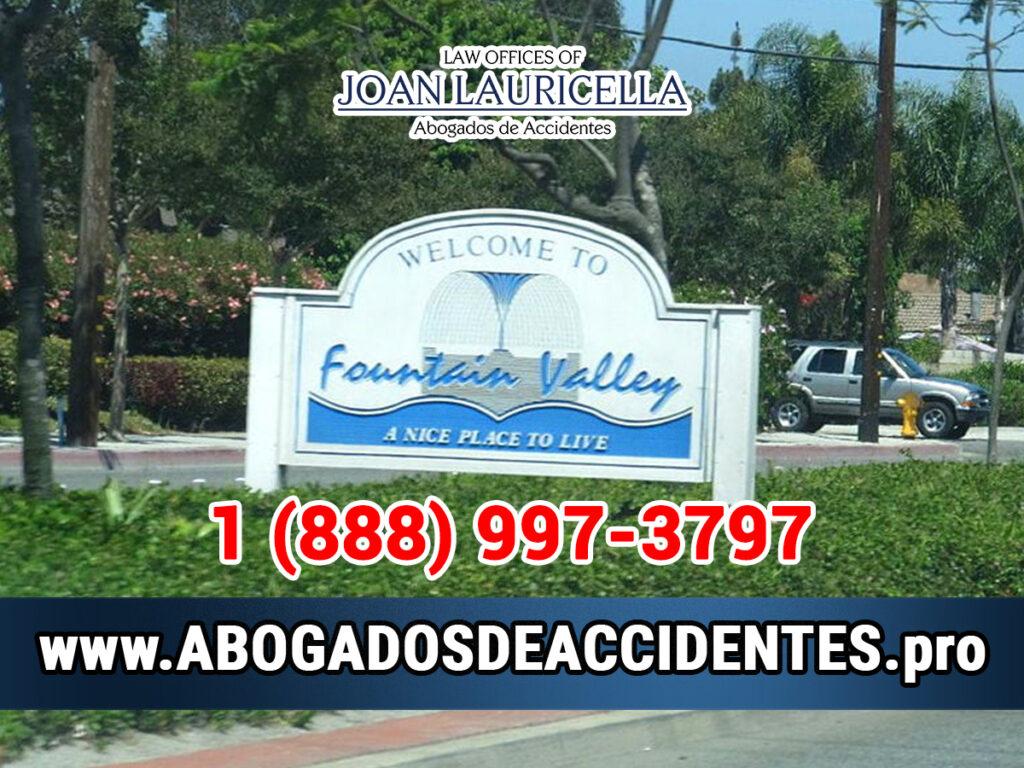 Abogados de Accidentes en Fountain Valley