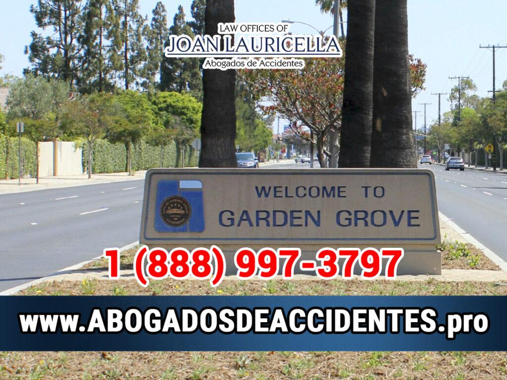 Abogados de Accidentes en Garden Grove CA