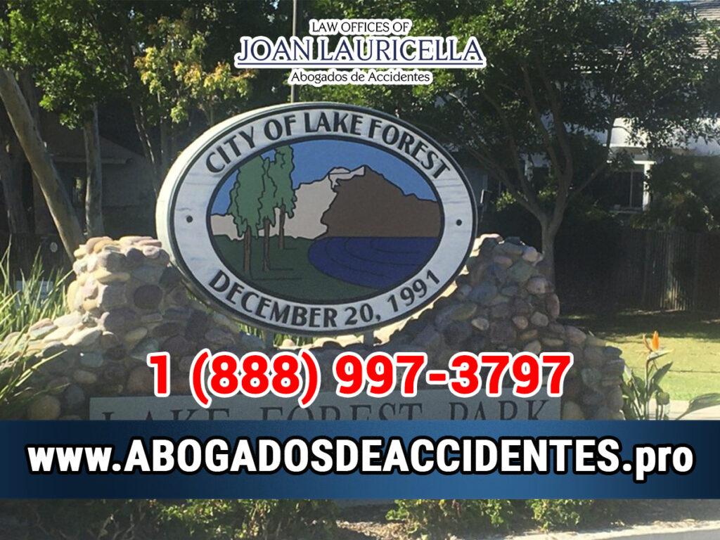 Abogados de Accidentes en Lake Forest