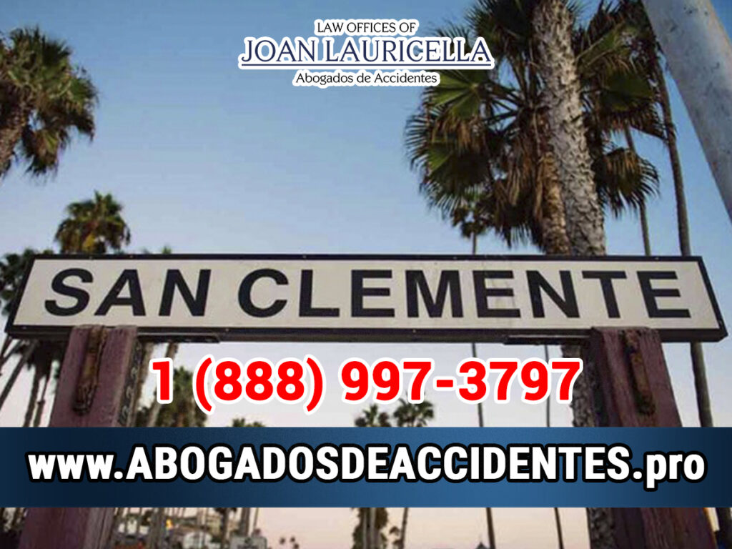 Abogados de Accidentes en San Clemente