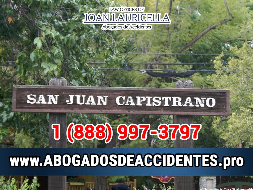 Abogados de Accidentes en San Juan Capistrano