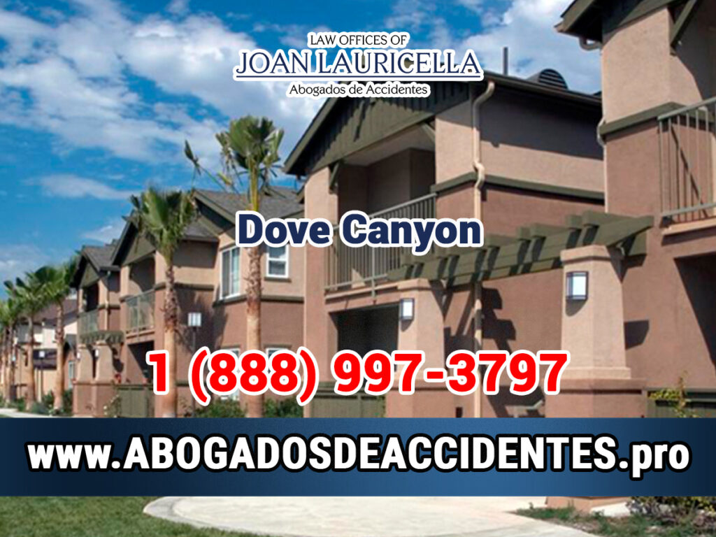 Abogados de Accidentes en Dove Canyon CA