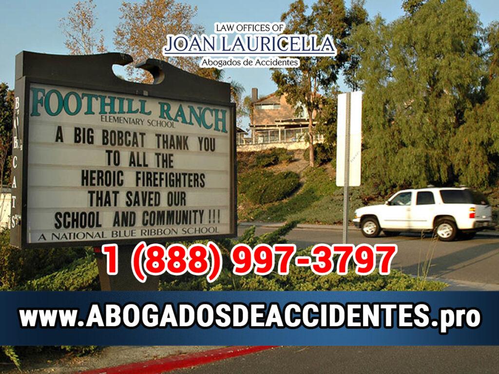 Abogados de Accidentes en Foothill Ranch CA