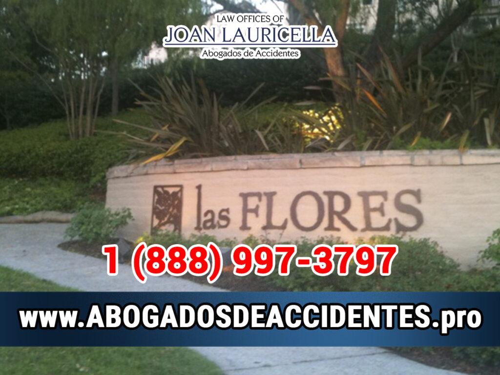 Abogados de Accidentes en Las Flores CA