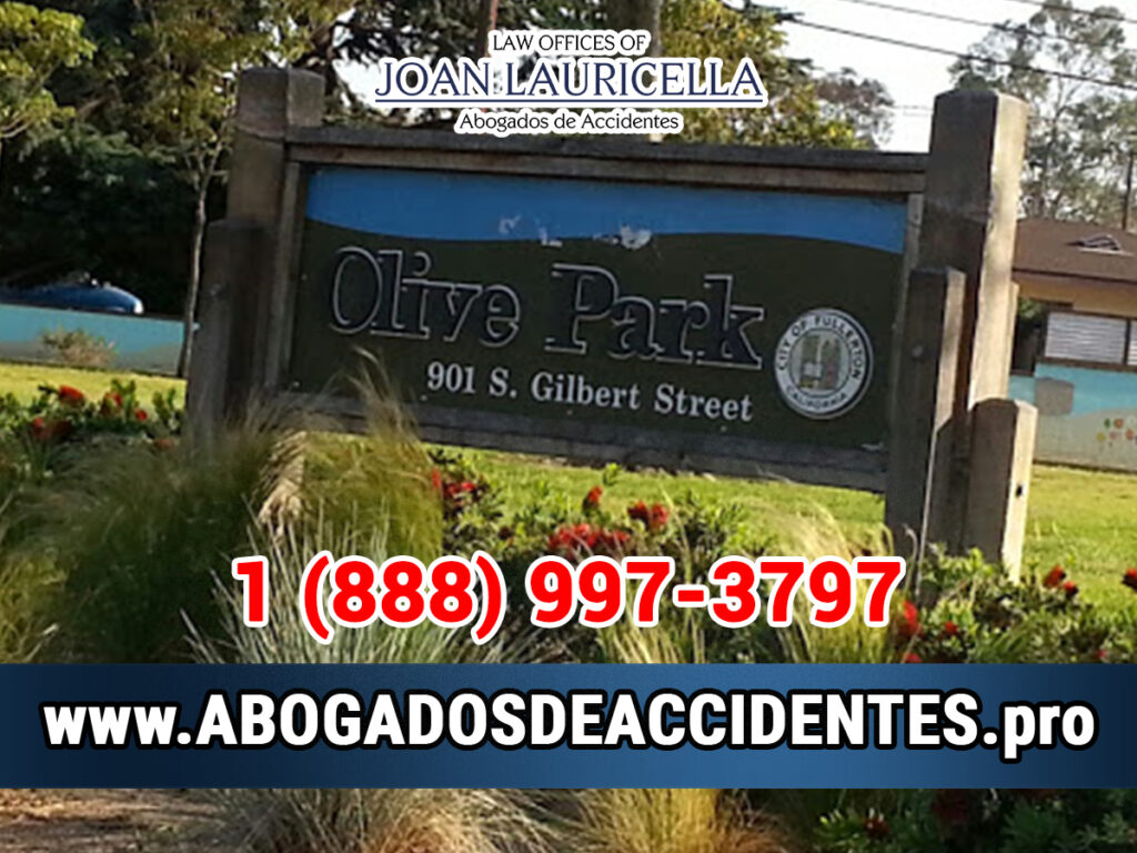 Abogados de Accidentes en Olive CA