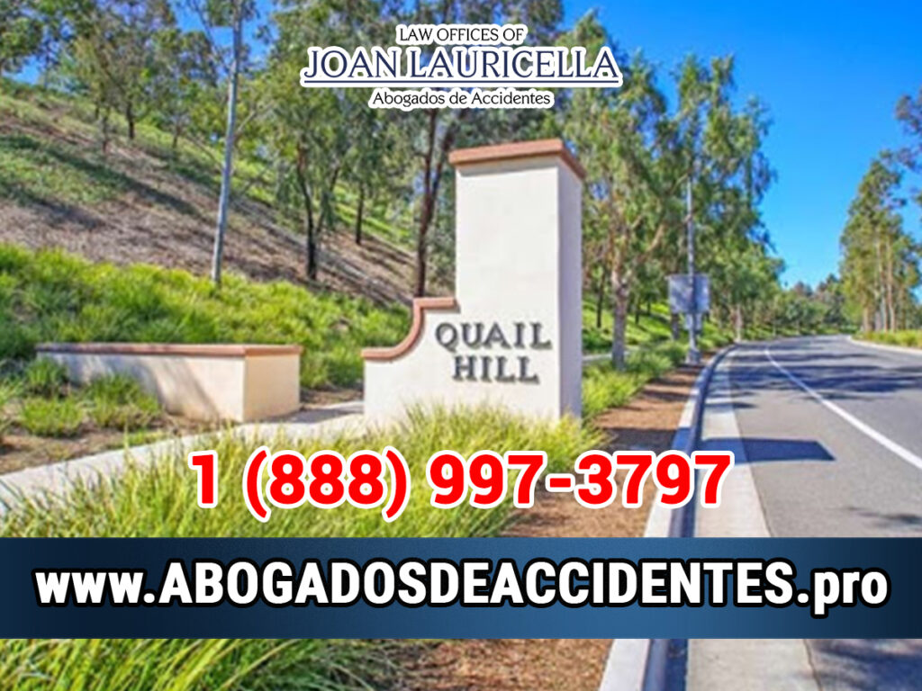 Abogados de Accidentes en Quail Hill CA