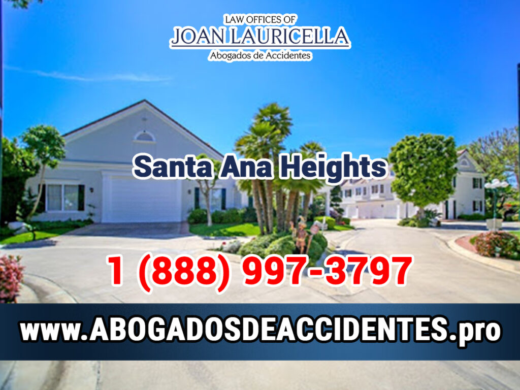 Abogados de Accidentes en Santa Ana Heights CA