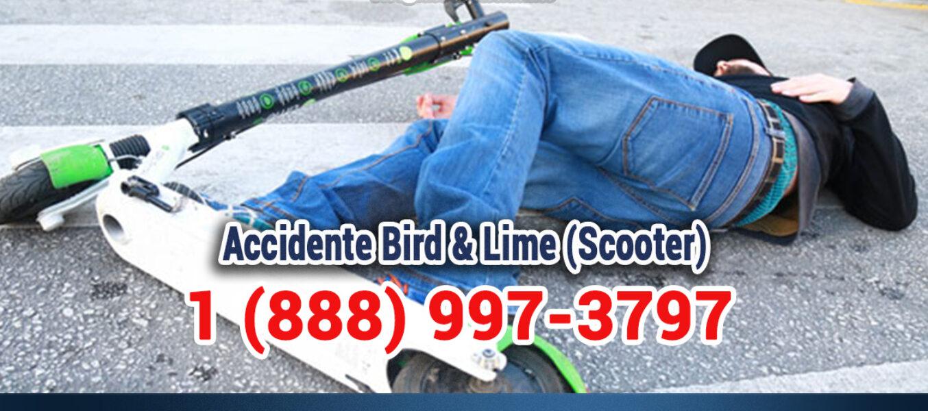 🥇Accidente Bird & Lime (Scooter) en LosÁngeles