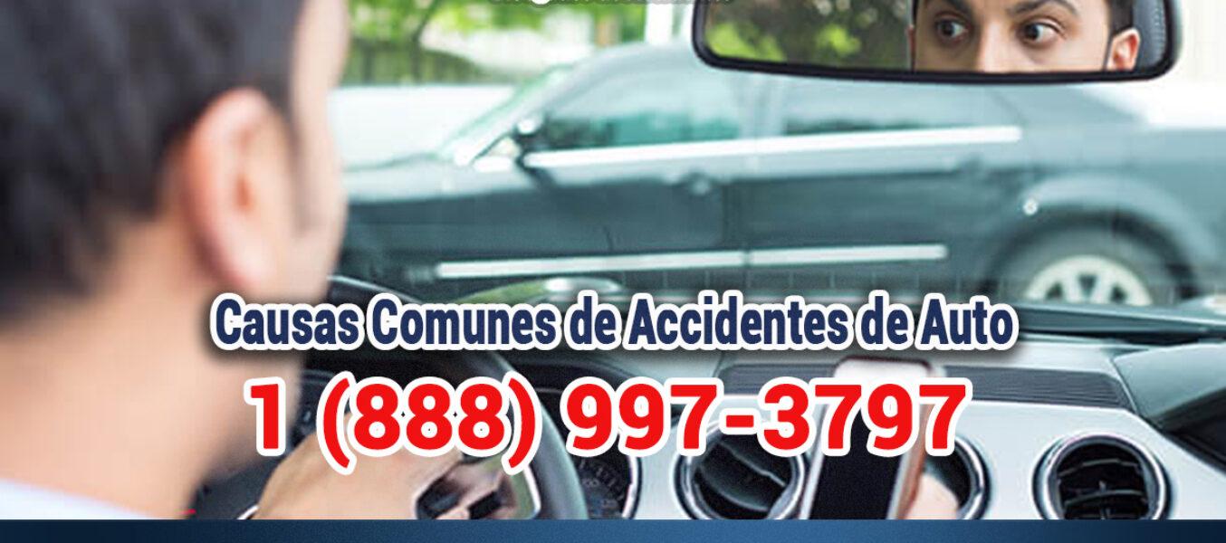 ▷🥇Causas de Accidentes de Auto en Los Ángeles