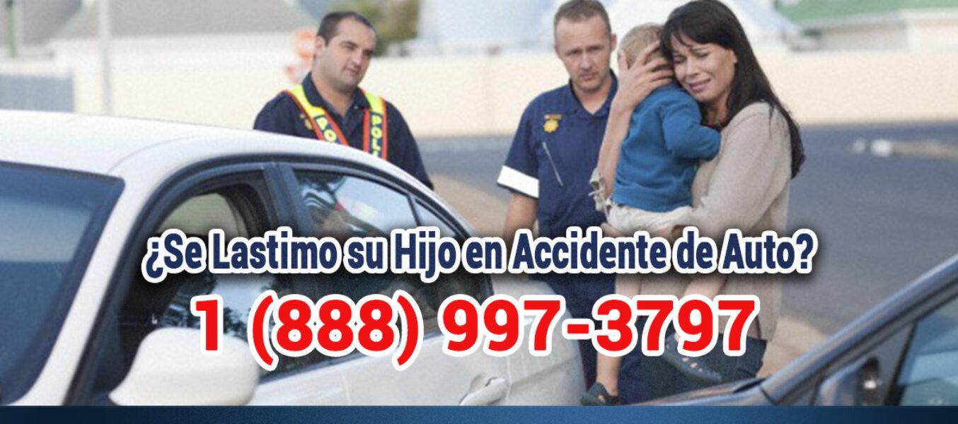 ▷🥇Se Lastimo su Hijo en Accidente de Auto en Los Ángeles