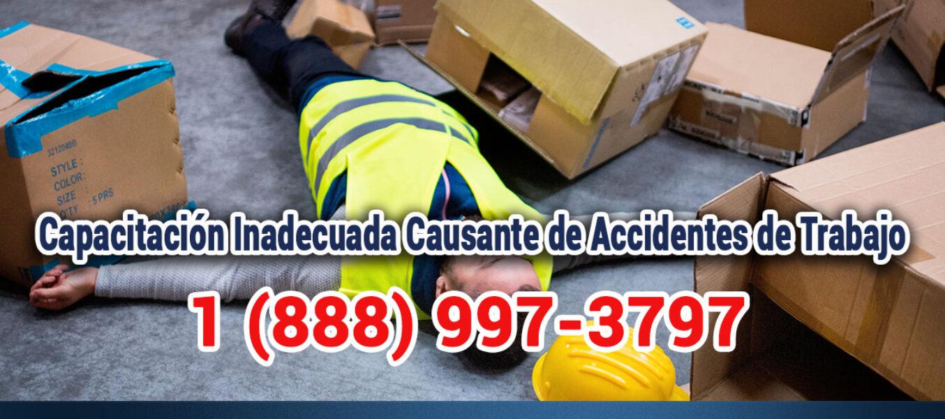 ▷🥇Capacitación Inadecuada Causante de Accidentes de Trabajo en Los Ángeles
