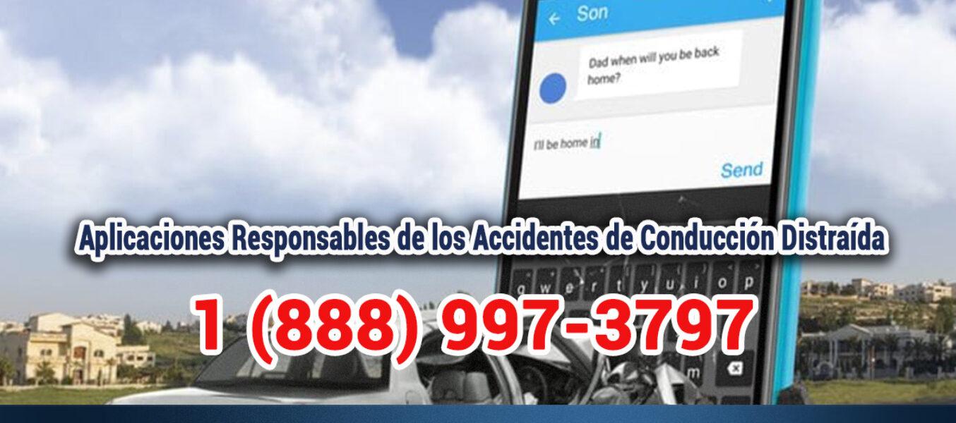 ▷🥇Aplicaciones Responsables de los Accidentes de Conducción Distraída en Los Angeles