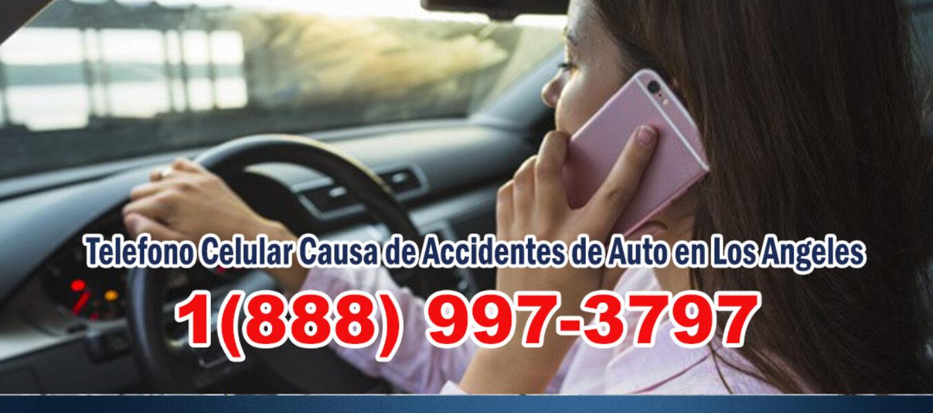 ▷🥇Telefono Celular Causa de Accidentes de Auto en Los Angeles